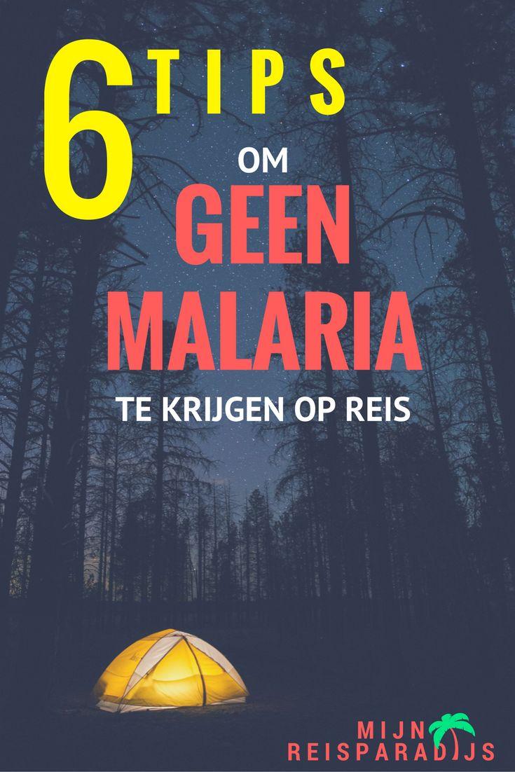 6 Tips om geen Malaria te krijgen op reis in Afrika, Azië of Latijns-Amerika | Mijn Reisparadijs