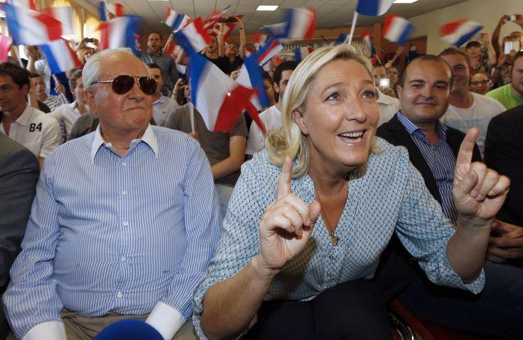 «Moi, je vote Marine», annonce Jean-Marie Le Pen