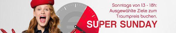 Airberlin Super Sunday: Ausgewählte Flugangebote am Sonntagnachmittag  New York ab 399 EUR #urlaub #reisen