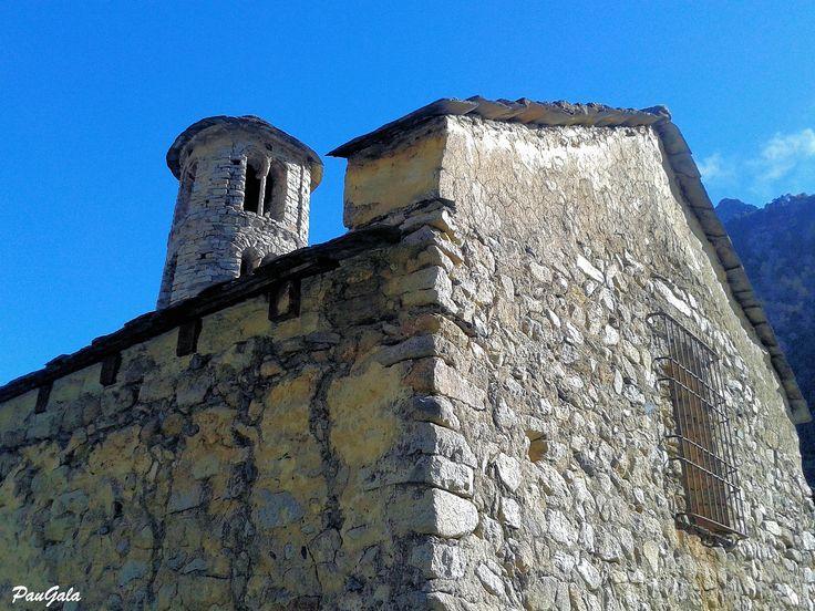 Iglesia románica de Santa Coloma. Siglo X. Andorra.
