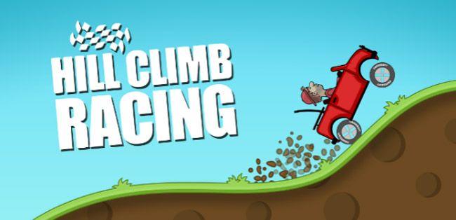 تطبيق لعبة Hill Climb Racing من أفضل الألعاب ثنائية الأبعاد
