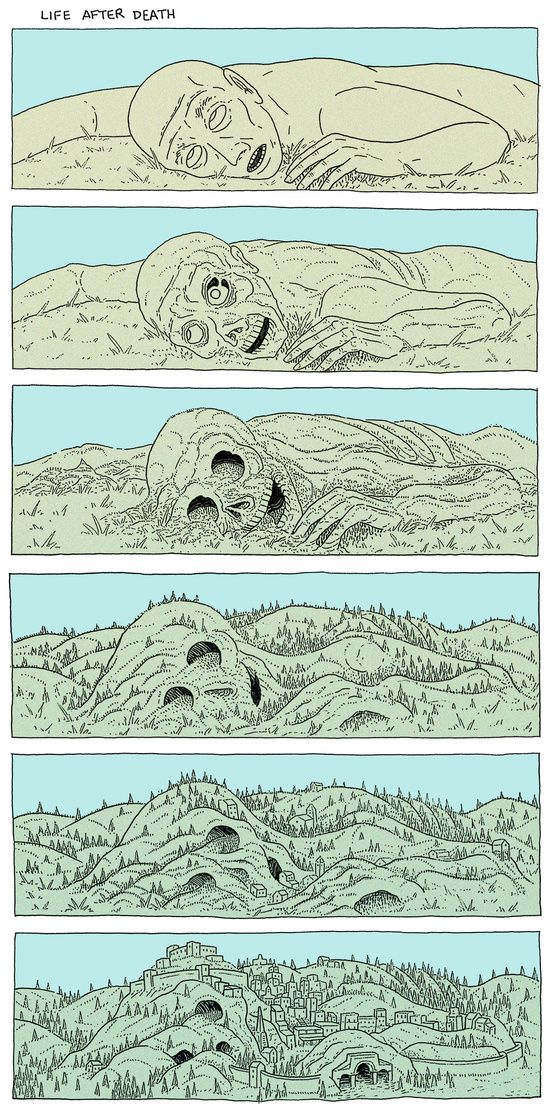 proletarianinstinct:There are so many old myths and legends about dead giants making hills and mountains