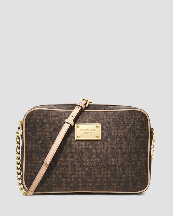 MICHAEL Michael Kors Crossbody - Jet Set Large | Bloomingdale's Loveee this!!