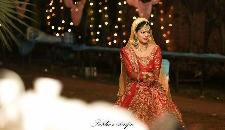 Forever moment for bride