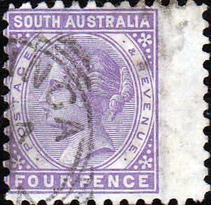 South Australia 1883 Queen Victoria SG 184 Good Used SG 184 Scott 79 Other Commonwealth stamps for sale here