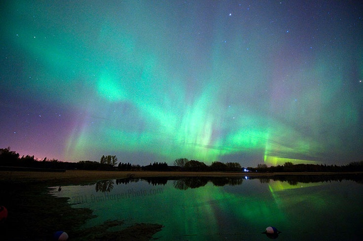 Northern Lights in Winnipeg. Sometimes you really don't know what you've got, until it's gone.
