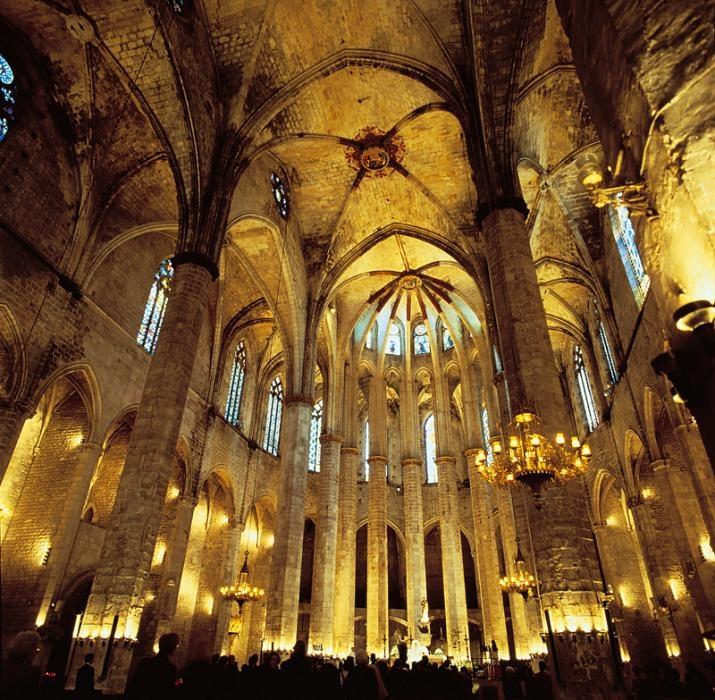 Santa Maria del Mar - tak til Ildefonso Falcones for fortællingen om opførelsen af kirken... Havets Katedral, en go' feriebog :o)