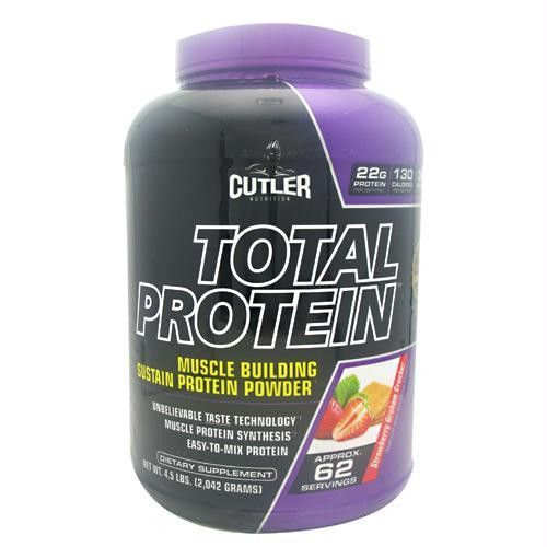Cutler Nutrition Total Protein Strawberry Graham Cracker