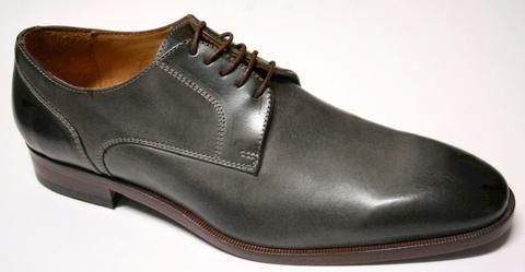 Mercanti Dallas Grey Lace up Shoe