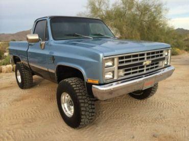 1985 Chevy K10 Short Bed | 1983 Chevrolet K10 Silverado 4x4 Short Bed Shortbed K-10 K1500 Arizona ...
