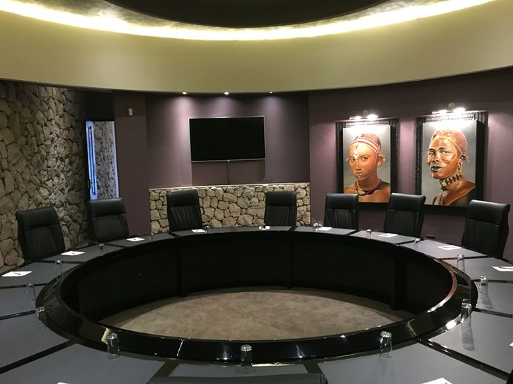 Newly revamped executive boardroom