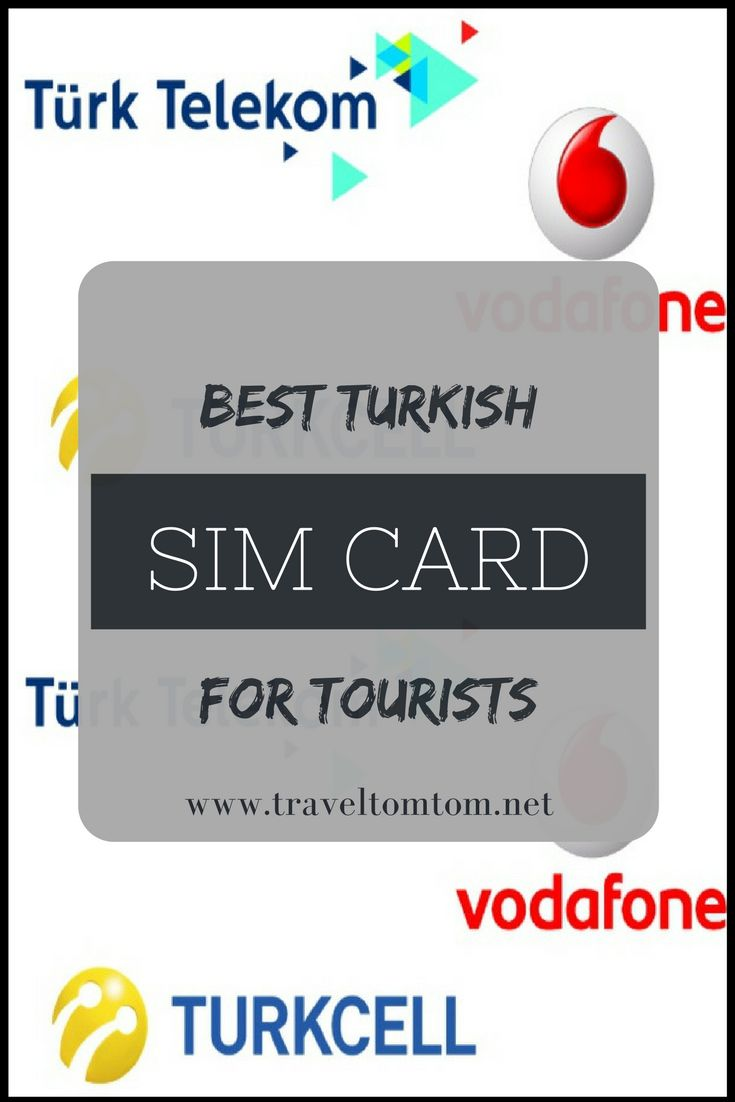 Looking for the best tourist sim card in Turkey? I did the math for you! This is the best Tukey SIM card for tourists. #turkey #europe #asia #vacation #trip #travel #traveltips #simcard #telecom #traveltomtom