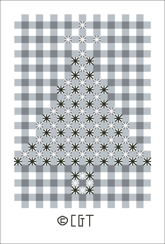 Chicken Scratch Embroidery, a variation of Cross Stitch, is done on gingham fabric. Use these free patterns to practice this traditional embroidery style.
