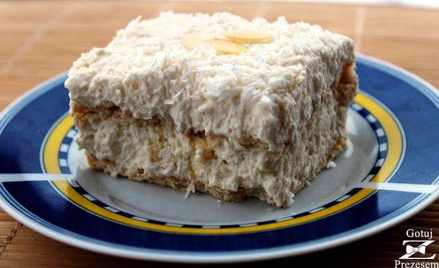 Gotuj z Prezesem: Ciasto rafaello bez pieczenia!