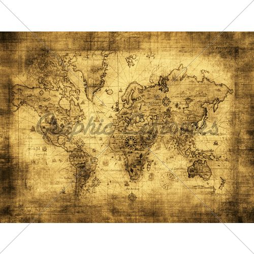 146 best maps of the world images on pinterest world maps large vintage style retro paper poster globe old world map gifts gumiabroncs Images
