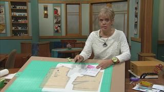 Nancy Zieman FItting Seminar Part 1 - Using pivot and slide techniques.  Mini Pattern pieces to practice found here - http://www.nancyzieman.com/blog/solving-the-pattern-fitting-puzzle-pieces/