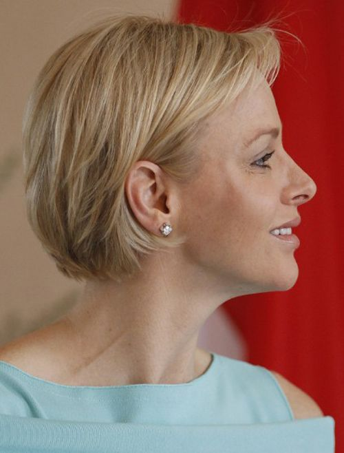 Short Layered Bob Hairstyles For Older Women Short Hair