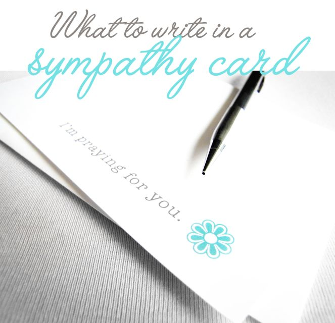 Best 25+ Writing a sympathy card ideas on Pinterest Sympathy - what to write