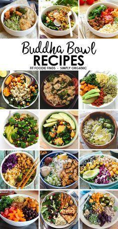 Idées recettes buddha bowls
