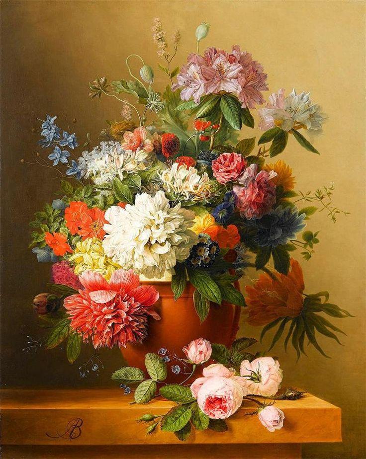 восхитительная картина с цветами сынки, дочки мамины