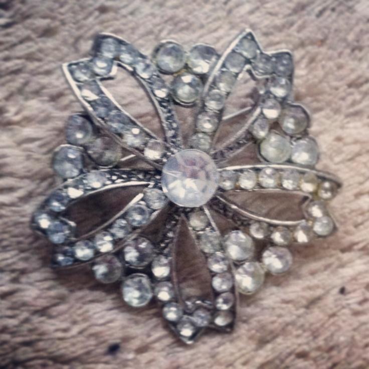 My vintage brooch