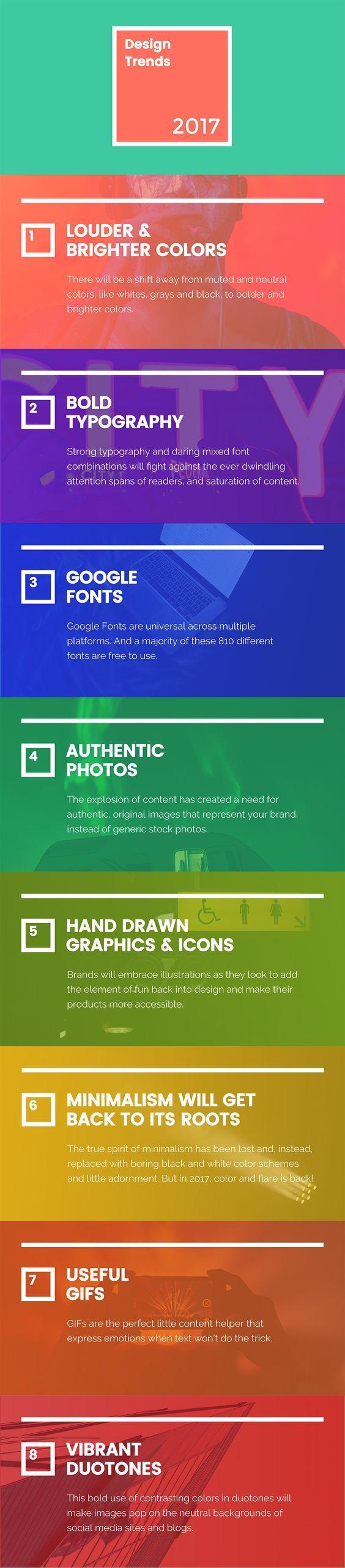 tendances du web design