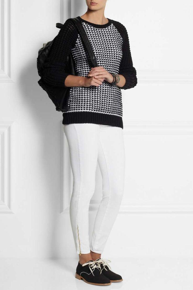 Francesine basse, come si portano - Francesine e pantaloni bianchi