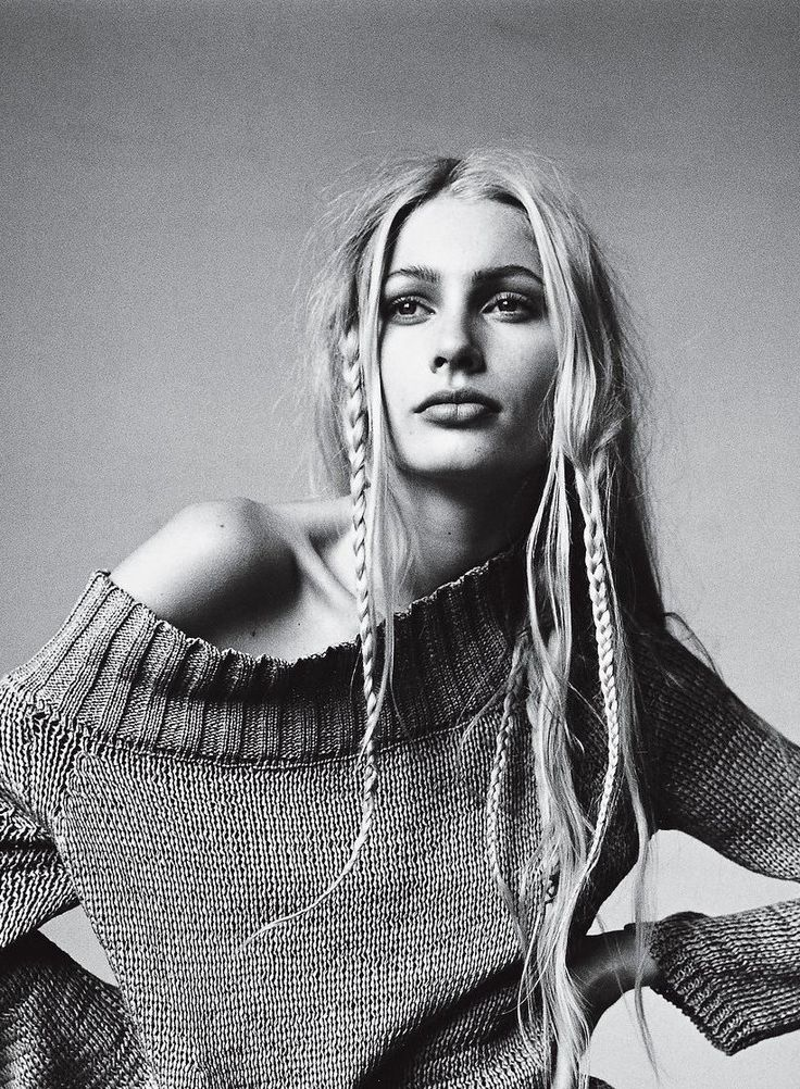 From Fiona Apple to FKA twigs, 16 reasons why twin braids are twice as much fun.  			Kirsty Hume 			 		  		Photographed by Irving Penn, Vogue, April 1997