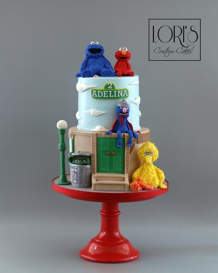 Sesame Street - Cake by Lori Mahoney (Lori's Custom Cakes)