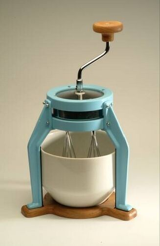 My Dream Kitchen will hold my collection of kitchen appliances that do not require electricity.  Like this awesome little mixer by Dick van Hoff.  SO COOL!