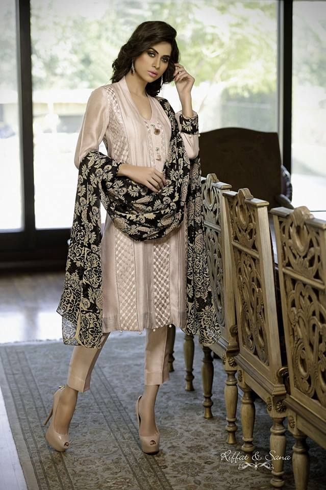 Sana Salman Party Wear Dresses Collection 2014