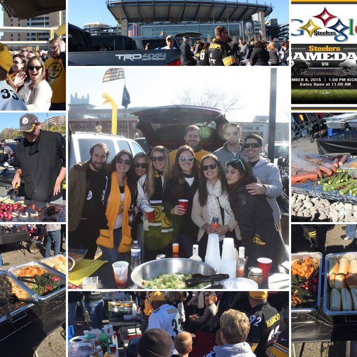 Catering a tailgate party for @google team members at the @steelers vs @raiders game Nov. 8, 2015  http://www.chefforadaycatering.com  #google #steelernation #steelers #chefforadaycatering #Catering #football #nfl #afceast
