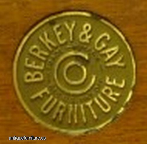 Old Furniture Labels   Antique Berkey Gay Medal Label at Antique Furniture  US. 114 best Furnituremaker s tags labels images on Pinterest   Arts