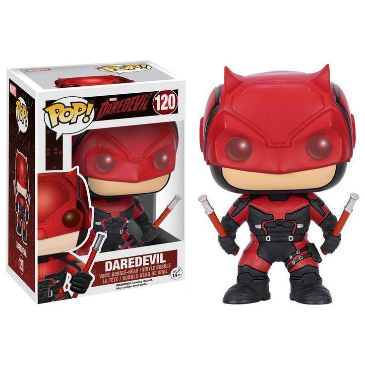 Funko - Pop! Marvel Daredevil TV: Daredevil Red Suit - Multi
