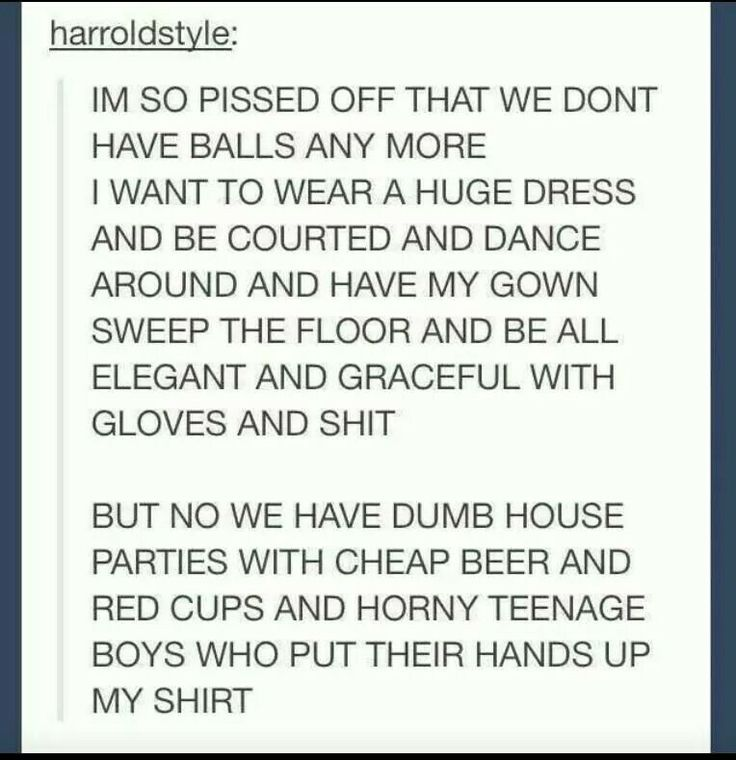 SO MUCH YES. CAUSE THEN WE COULD ACTUALLY DANCE