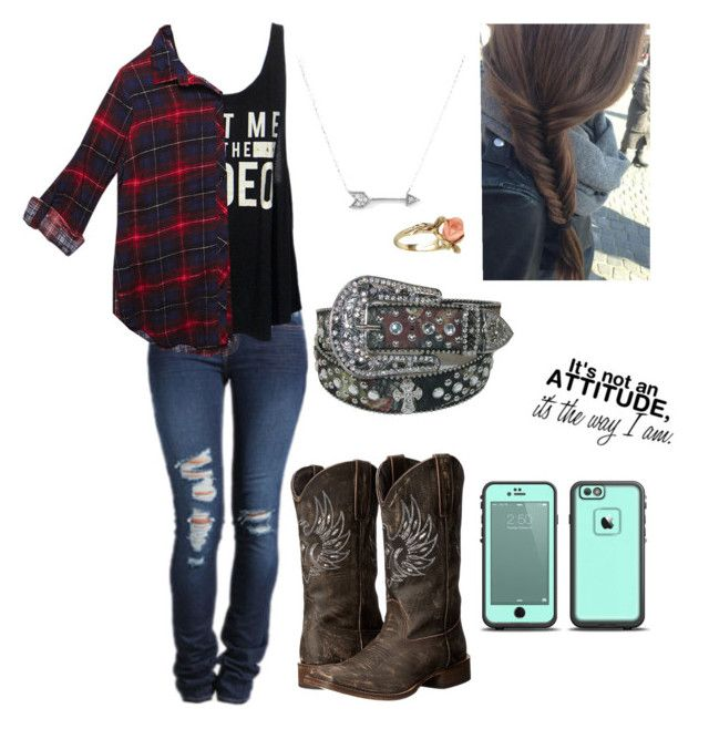 """Untitled #78"" by shelbydog1162 ❤ liked on Polyvore featuring J Brand, Roper, Wet Seal, Vintage and Adina Reyter"