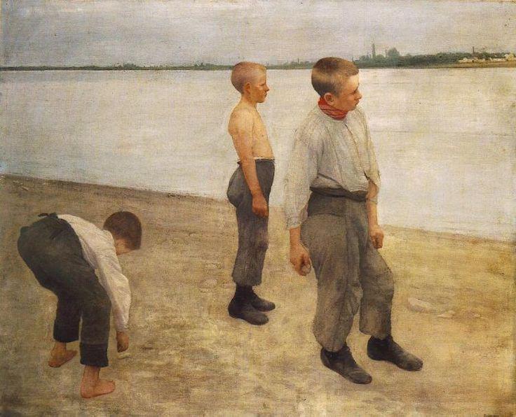 Ferenczy Károly - Kődobálók