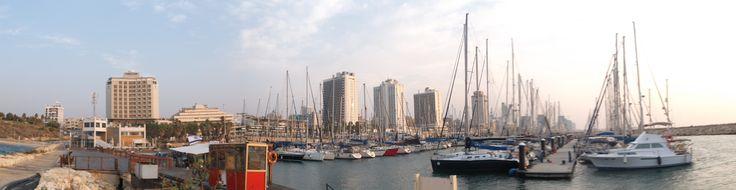 Tel Aviv Marina promenade (טיילת מרינה תל אביב)