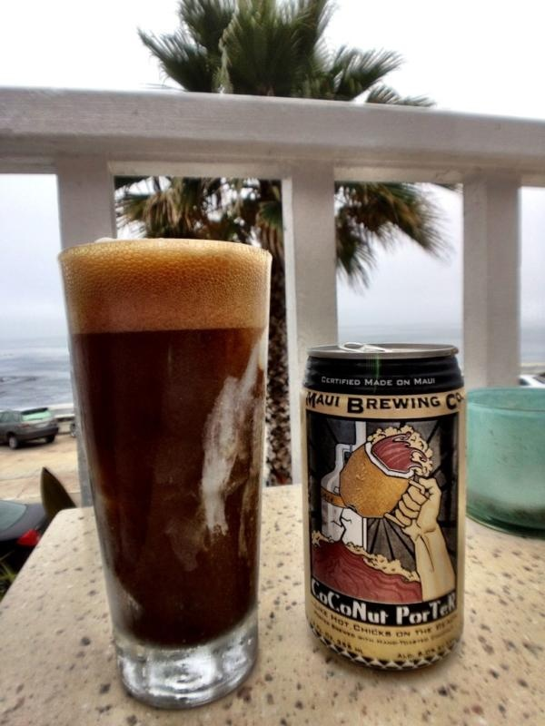 Maui Coconut Porter A delicious dark chocolate porter brew with a perfectly subtle hint of toasted coconut. Smooth, refreshing, and rich!