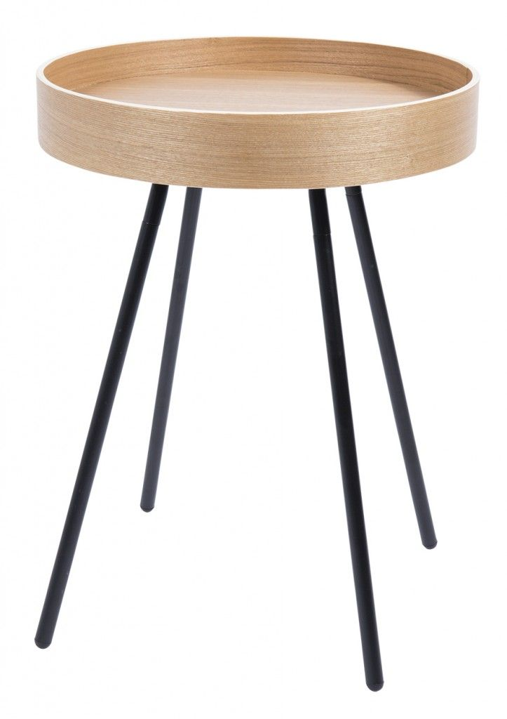 Oak Tray table from Zuiver