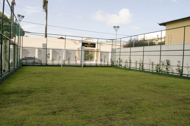 Campo de futebol do Parc Victoria.