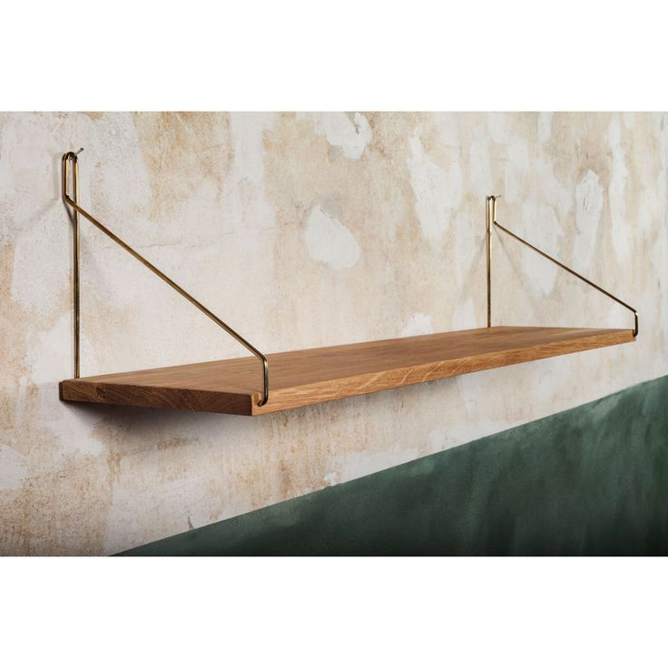 Shelf 80 hylla, mässing – Frama – Köp online på Rum21.se