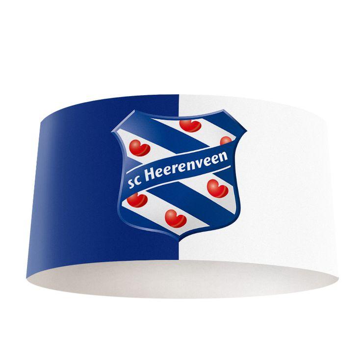 Lampenkap SC Heerenveen | Bestel lampenkappen voorzien van digitale print op hoogwaardige kunststof vandaag nog bij YouPri. Verkrijgbaar in verschillende maten en geschikt voor diverse ruimtes. Te bestellen met een eigen afbeelding of een print uit onze collectie.  #lampenkap #lampenkappen #lamp #interieur #interieurdesign #woonruimte #slaapkamer #maken #pimpen #diy #modern #bekleden #design #foto #scheerenveen #heerenveen #friesland #fryslan #voetbal #club #voetbalclub #sport #jongenskamer