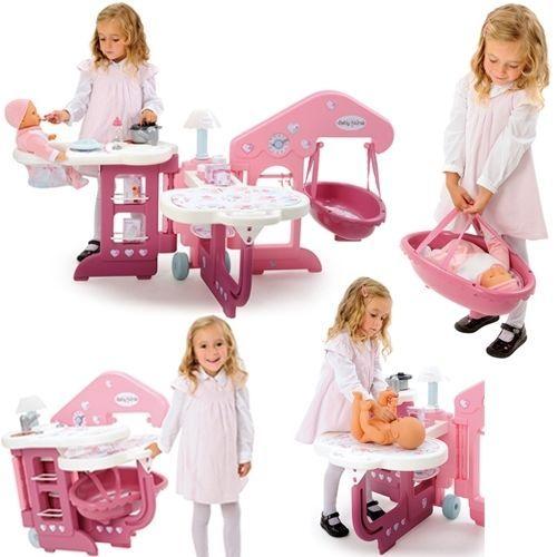 smoby baby nurse nursery centre babies home bnib. Black Bedroom Furniture Sets. Home Design Ideas