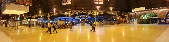 Travelling trough central station Sydney