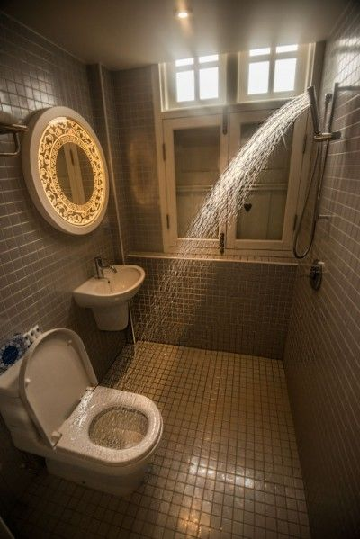 Man S Dream Bathroom Shower Toilet Combo Wet Room