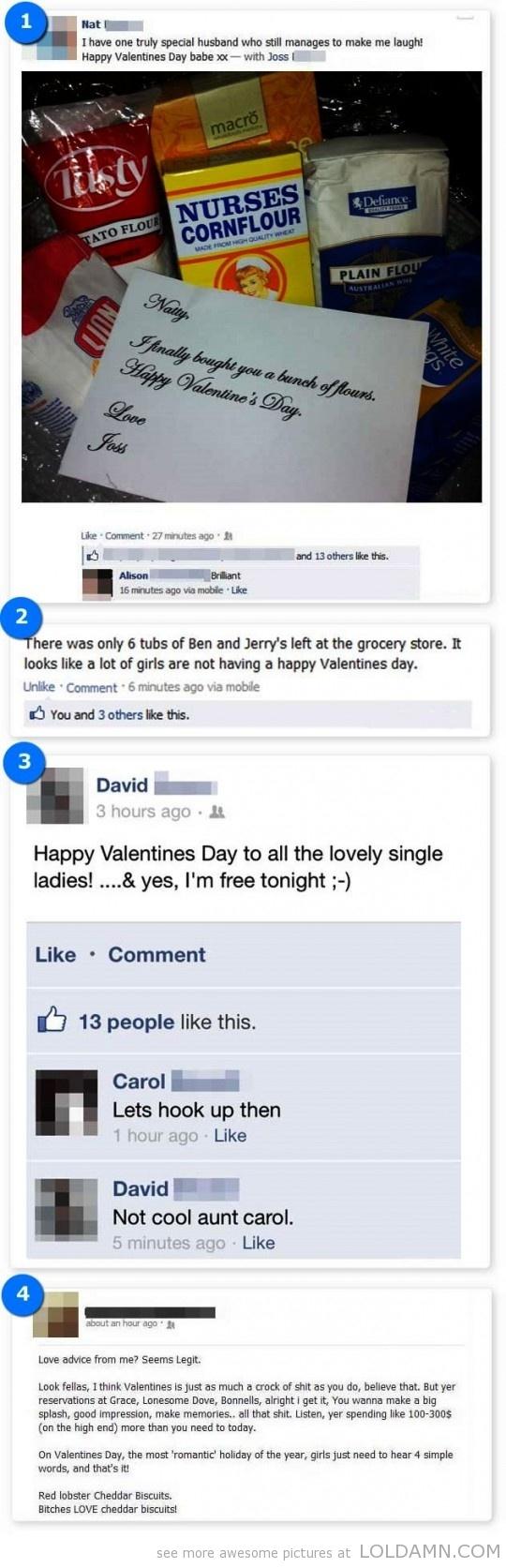 valentine jokes facebook