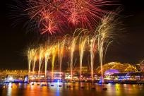 Australia Day Fireworks Darling Harbour | Owen Wilson Photography