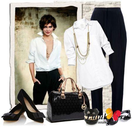 Офисный стиль одежды для женщин и девушек