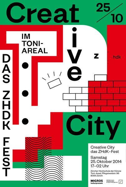 Creative City - Das ZHdK-Fest